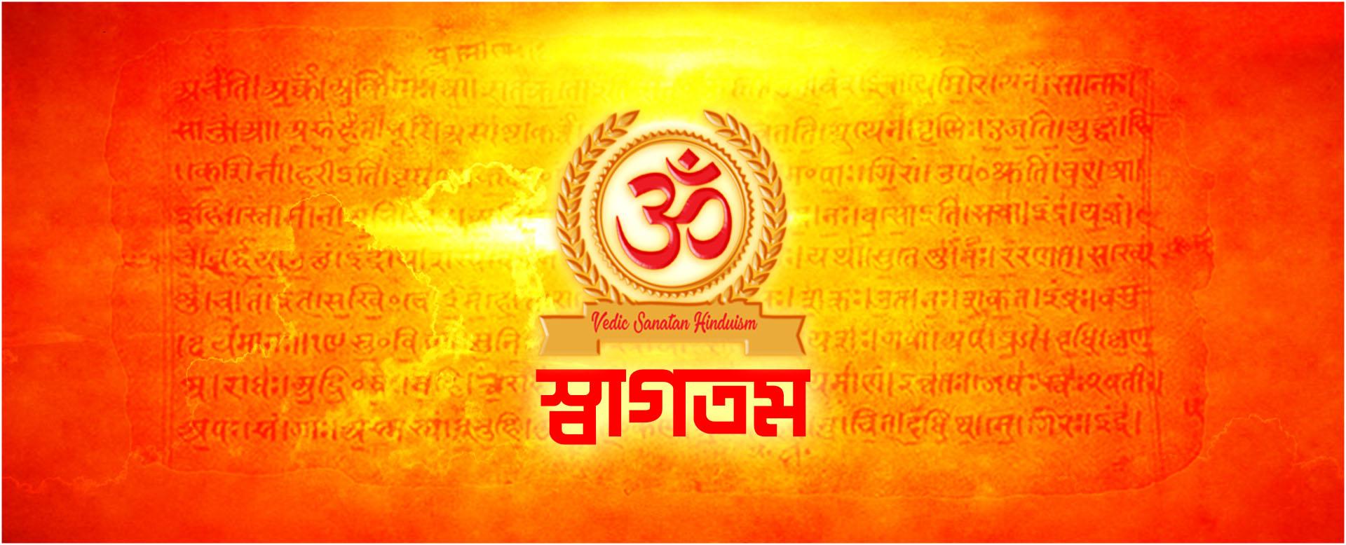 Vedic Sanatan Hinduism, বৈদিক সনাতন হিন্দুত্ববাদ