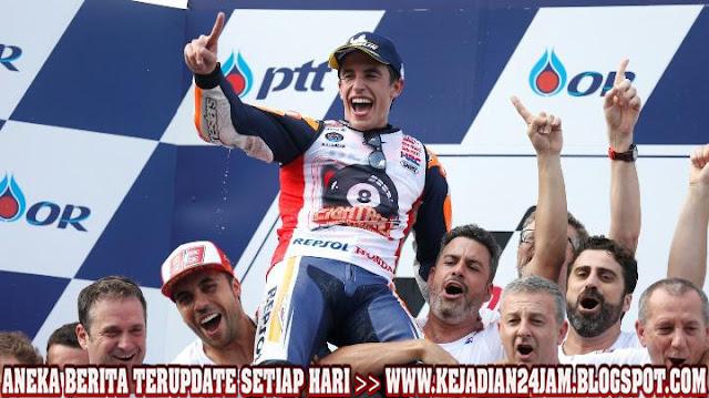Marquez Seperti Makhluk Dari Planet Laen Setelah Juara MotoGP Keenam Kalinya
