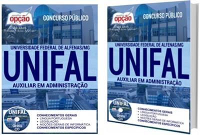 Apostila Unifal Auxiliar em Administração