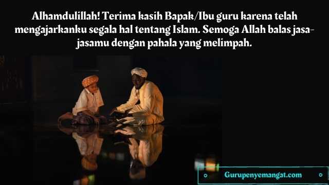 Kata-kata Mutiara Islami Tentang Guru
