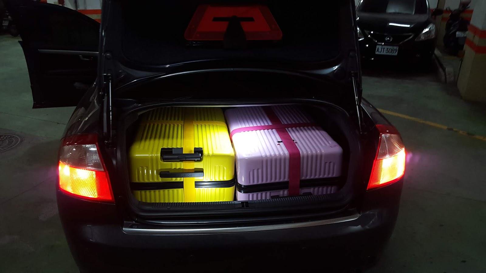 29吋行李箱2卡