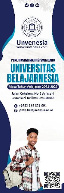 Banner Set : Download Spanduk Penerimaan Mahasiswa Baru Photoshop