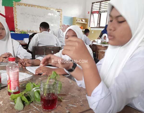 contoh percobaan praktikum sekolah