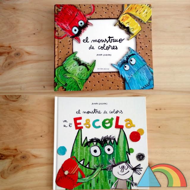 Libros colección El monstruo de colores de Anna Llenas
