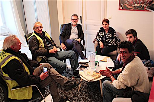 cb6e08c82c2b39 Le député Raphaël Gérard a reçu une délégation des Gilets jaunes