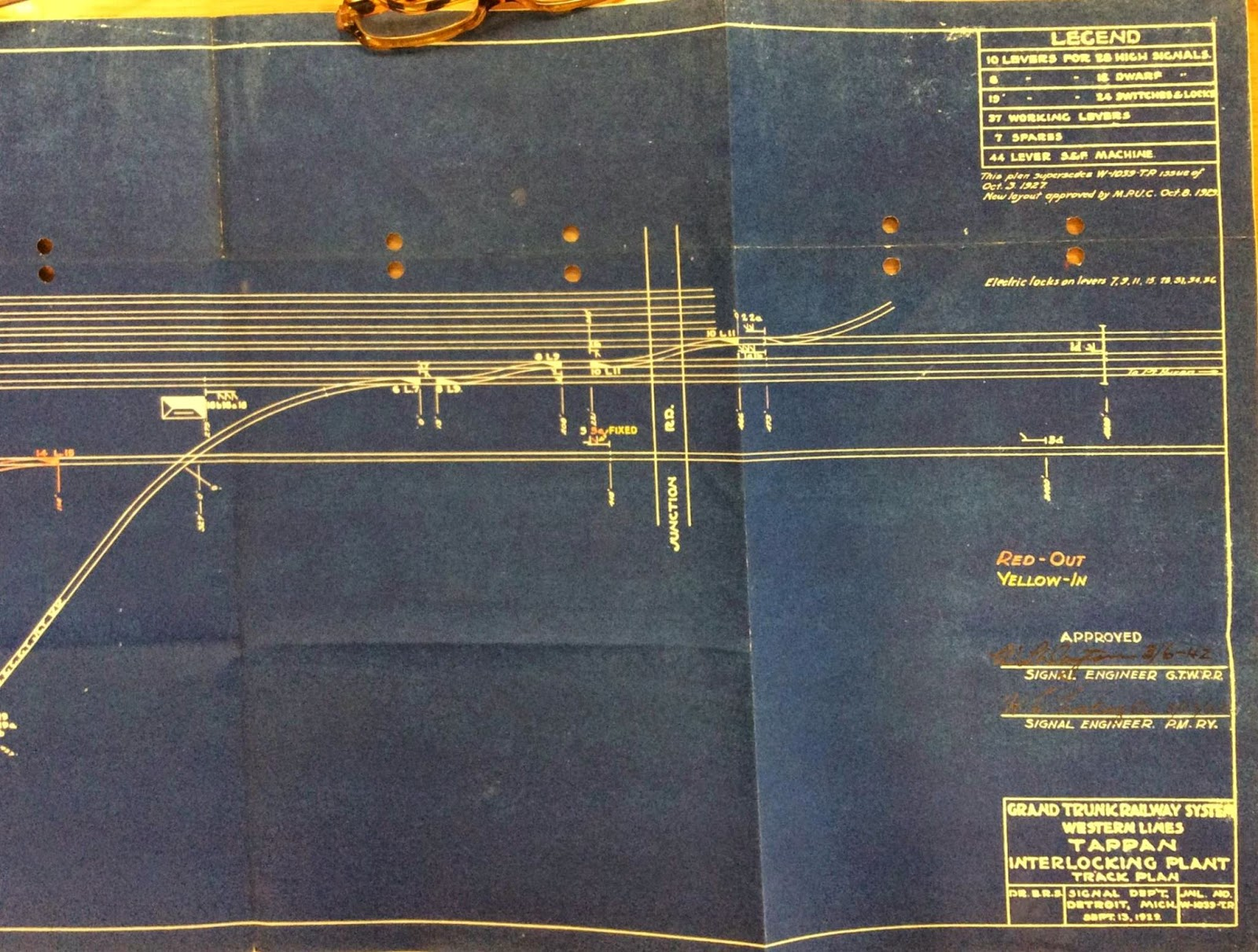 Grand Trunk Western Flint Subdivision Tappan Ac Wiring Diagram Interlocking Plant Provided By Mike Delaney Of The Gtwhs