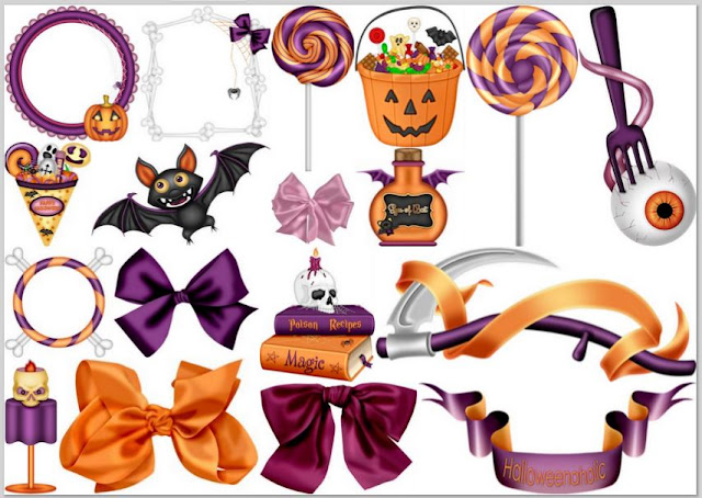Clipart Halloween Encantado.