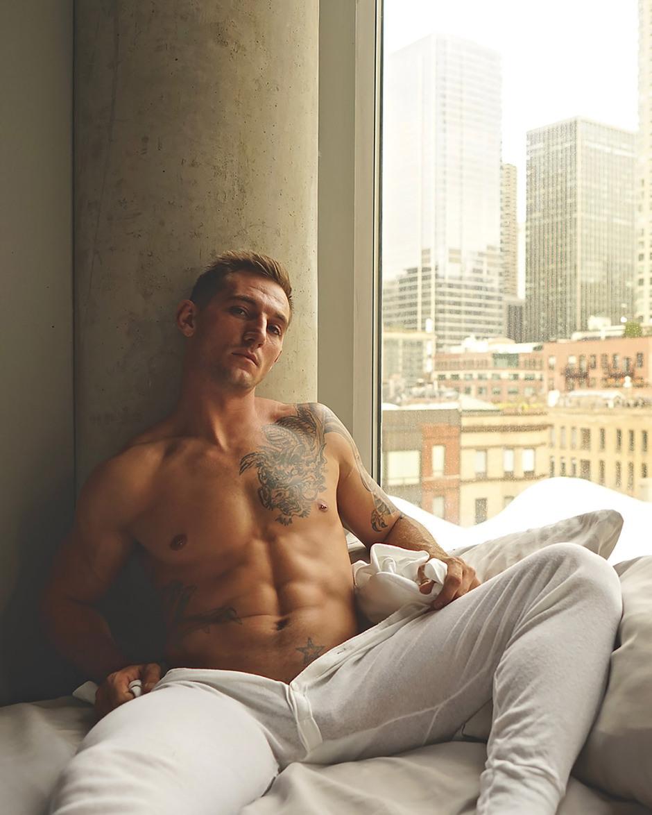 Chris Pennington Shirtless by KJ Heath