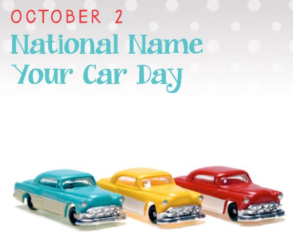 National Name Your Car Day Wishes for Instagram