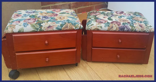 Craft: My up-cycled drawers using Lego