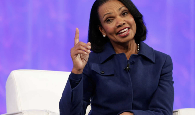 'Let's drop this notion': Condoleezza Rice eviscerates argument that race relations are 'worse now'