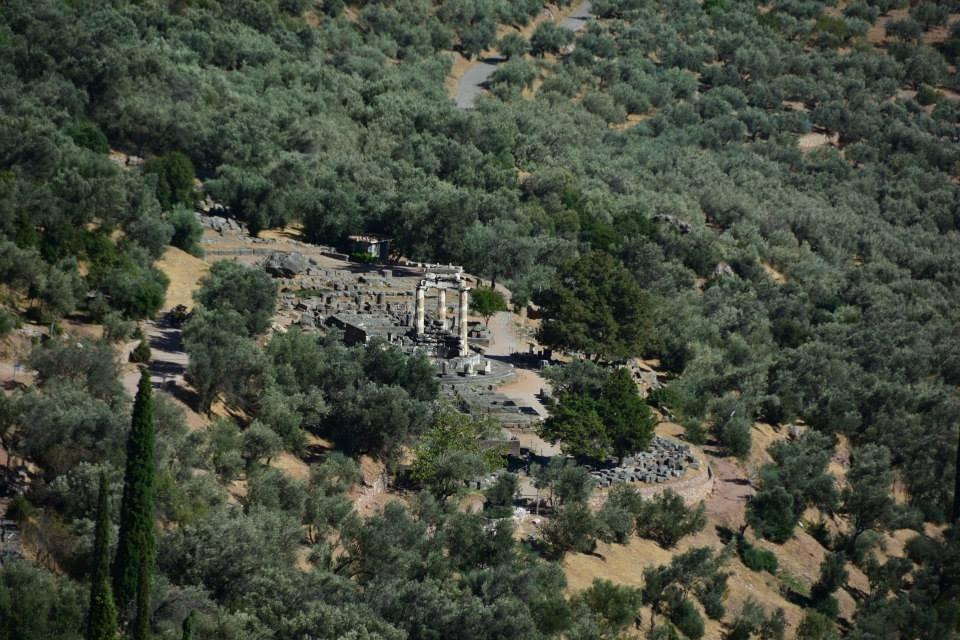 Temple of Athena Pronaia Greece