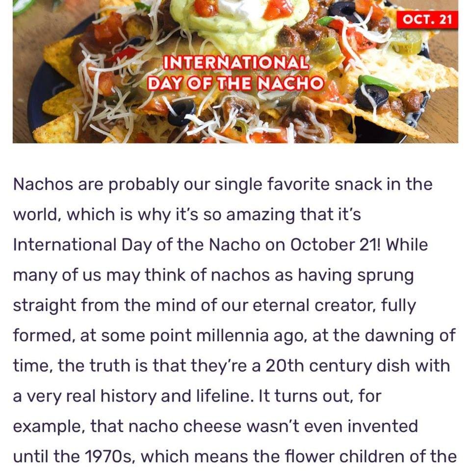 International Day of the Nacho Wishes For Facebook