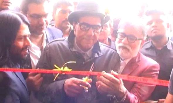 Movie actor Dharmendra Paji inaugurated 'Hot-Dharma' Dhabale in Murthal