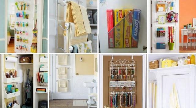 Χρησιμοποιείστε τις πόρτες ως πρόσθετο Αποθηκευτικό χώρο