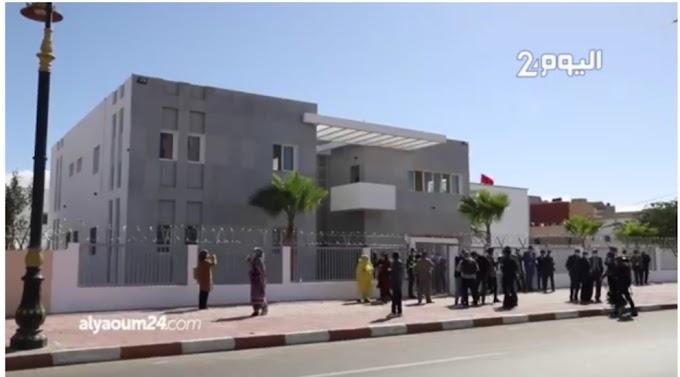 """El consulado """"fantasma"""" de Estados Unidos en Dajla ocupada; cedido, cerrado y abandonado."""
