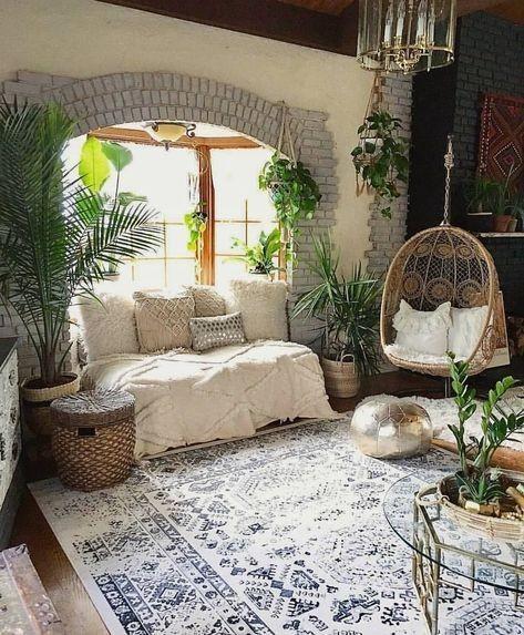 63 Botanical Dark Boho Living Room Dreams Ara Home