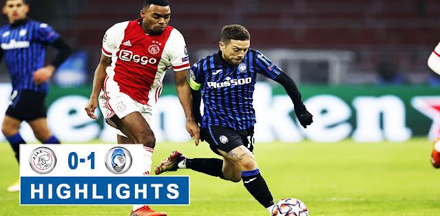 Ajax vs Atalanta – Highlights