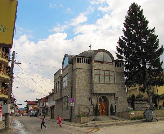 Klasztor Paisjusza Chilendarskiego.