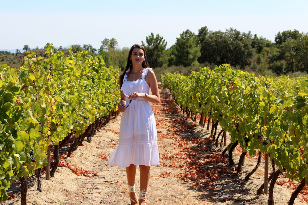 vineyard portugal travel blogger peexo