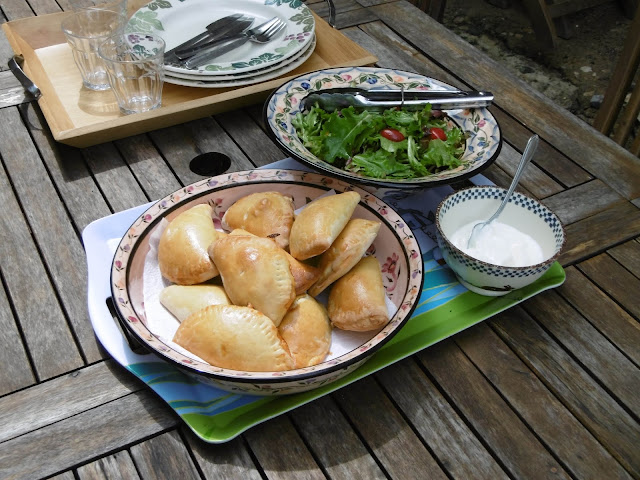 Homemade cheesy beef empanadas. Photo by Loire Valley Time Travel.