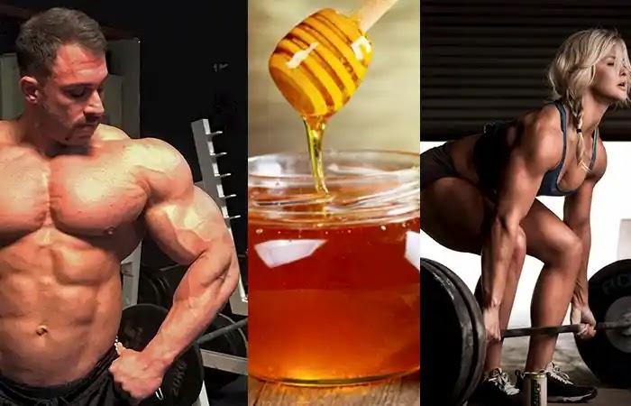استخدام خلطة العسل لزيادة الوزن وبناء العضلات