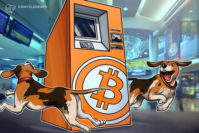 первый биткойн-банкомат