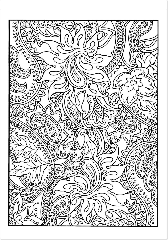 Schöne Blumen Malvorlagen pdf - Free Mandala