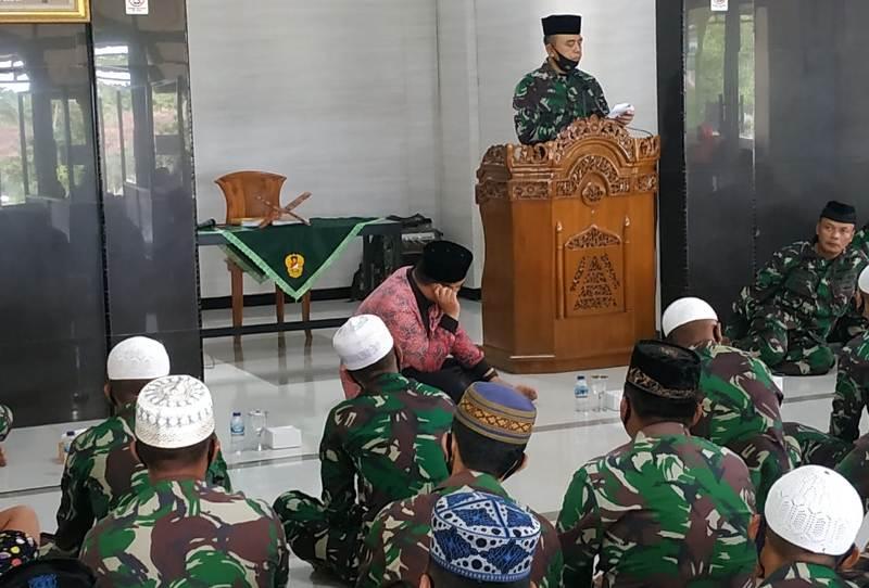 Danrem 033/WP Brigjen TNI Harnoto, Hadiri Peringatan 1 Muharram 1442 Hijriyah/2020 Masehi