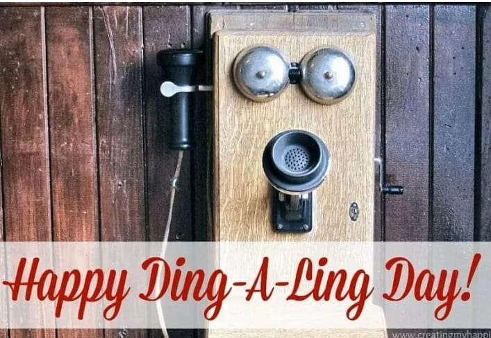 National Ding-A-Ling Day Wishes Sweet Images