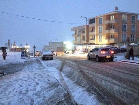 Kerem Coşkun Caddesi kış fotoğrafı