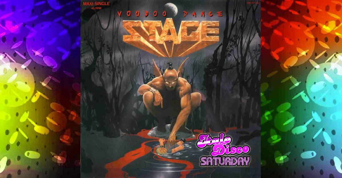 La copertina di Voodoo Dance degli Stage, brano Italo Disco con contaminazioni rock