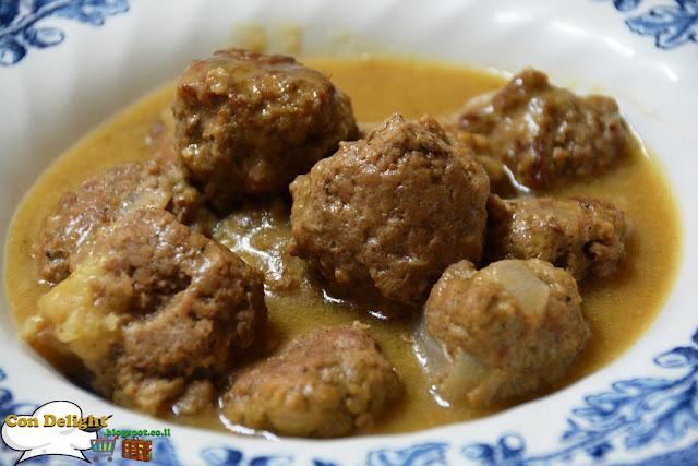 כדורי בשר שוודים Meatballs