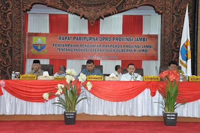 Pemprov Jambi Usulkan Ranperda Inovasi Daerah untuk Tingkatkan Pelayanan Publik