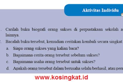 Kunci Jawaban IPS Kelas 8 Halaman 93 Aktivitas Individu
