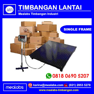 Timbangan Lantai Single Frame