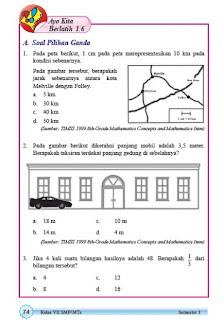 kunci jawaban matematika kelas 7 smp halaman 74