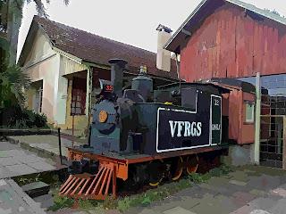 Casa do Artesão - Antiga Estação Ferroviária, em Canela