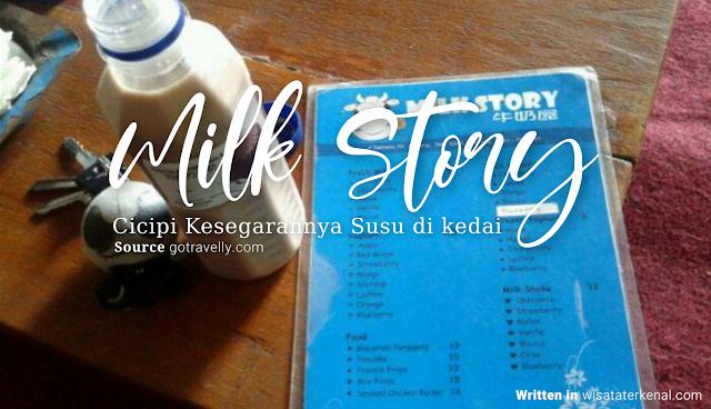 Tempat Nongkrong di Malang Milk Story di Kota Wisata Batu