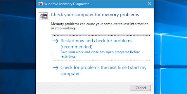 Cara Memperbaiki PAGE_FAULT_IN_NONPAGED_AREA Blue Screen Error -