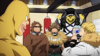 ヒロアカ インターン | シシド Shishido | 僕のヒーローアカデミア プロヒーロー | My Hero Academia | Hello Anime !
