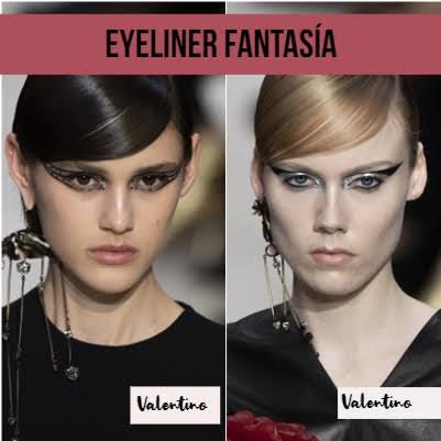 eyeliner fantasía collage