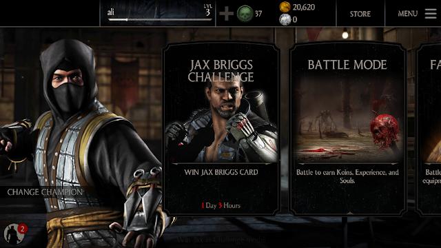Mortal kombat x mod apk unlimited coins