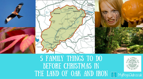 5 Family Friendly Things To Do Before Christmas In the Land of Oak and Iron (AD)