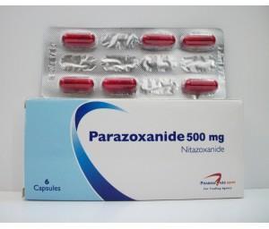 النشرة الداخلية كبسولات بارازوكسانيد parazoxanide للإسهال