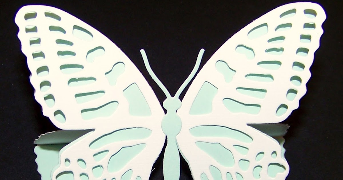 Ann Greenspan S Crafts Butterfly Shaped Easel Card