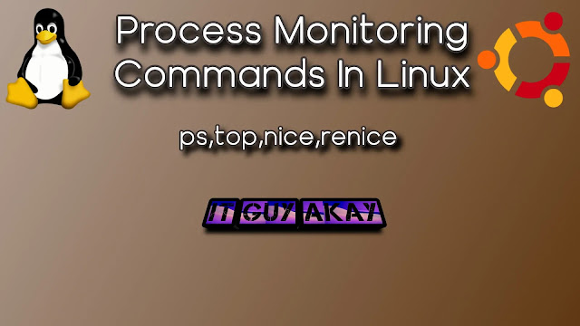 process monitoring commands in Linux