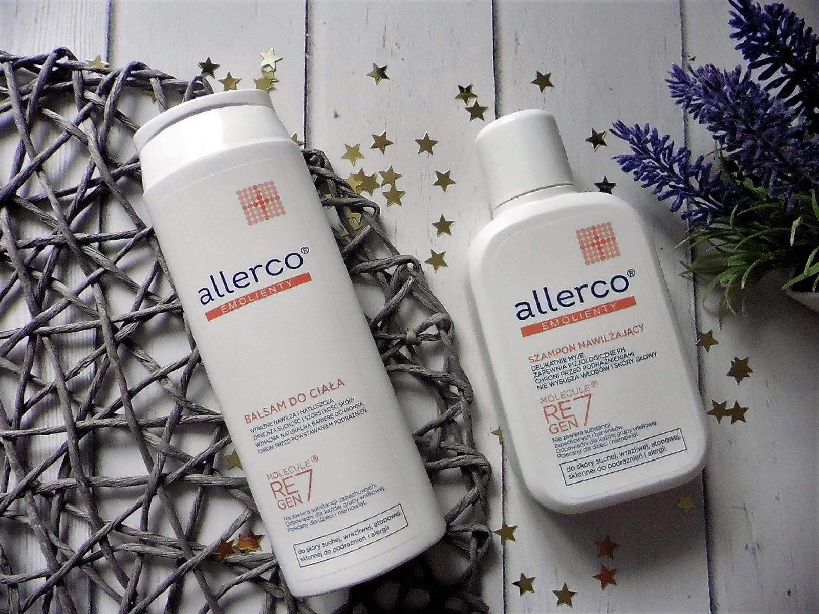 allerco-balsam-do-ciala, allerco-szampon-nawilzajacy, allerco-emolienty