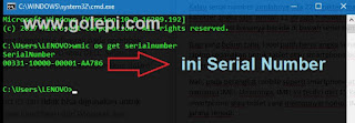 Cara Mengecek Serial Number Windows