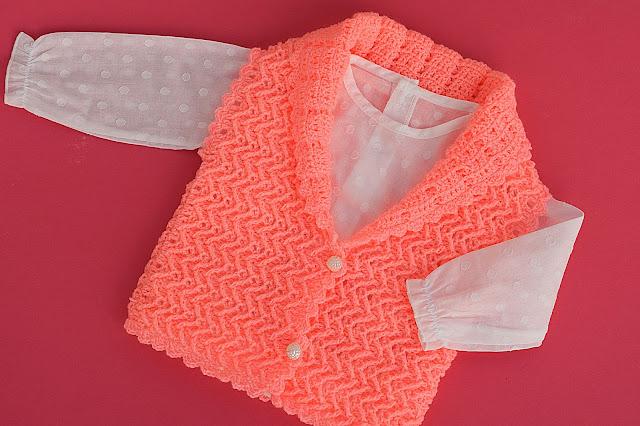 1 - Crochet Chaleco lindo a crochet y ganchillo por Majovel Crochet